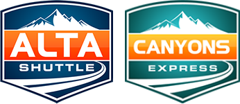 Alta Shuttle and Canyons Express Logos